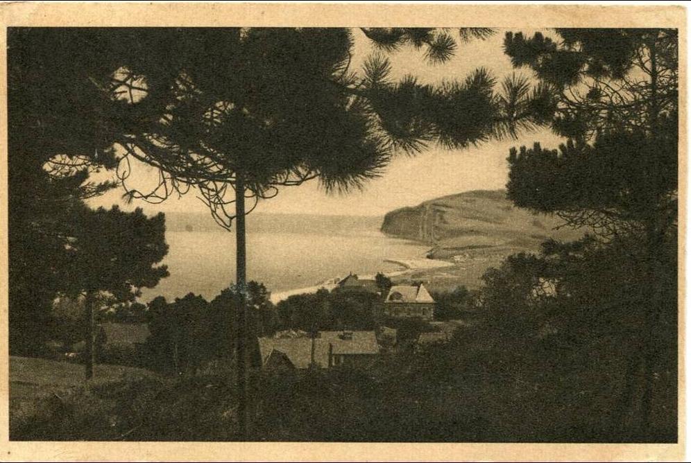 Gîte Les baguenaudiers - Quiberville plage - carte postale ancienne