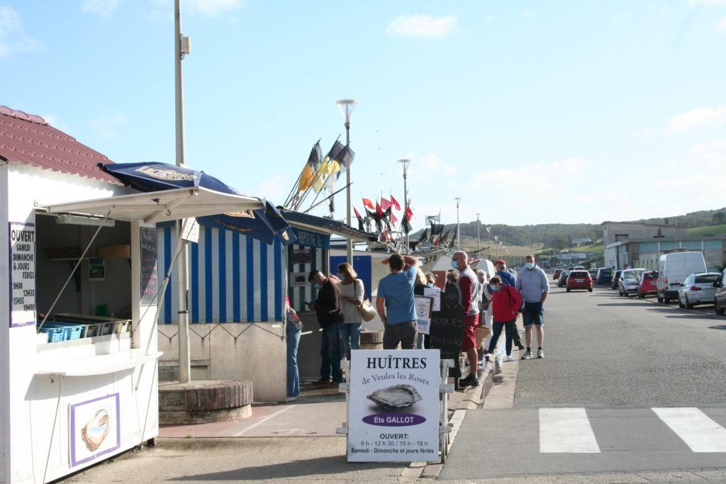 Gîte Les baguenaudiers - pêche locale - Quiberville-sur-Mer