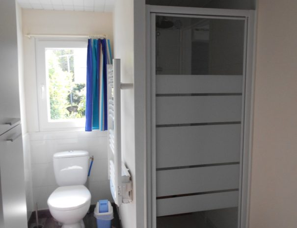 Gîte Les baguenaudiers - salle de bain Ma Douce